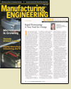 Manufacturing Engineering cover