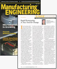 Manufacturing Engineering April 2004